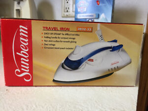 NIB travel iron