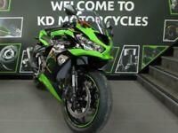 KAWASAKI ZX 636 KRT SPORTS TRACK MOTORCYCLE RACE PROVEN LOW MILES SEPT REG