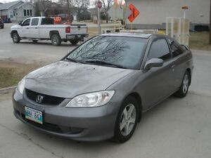 THE CAR IS SOLD !!!!  2005 Honda Civic SI-G Coupe (2 door)