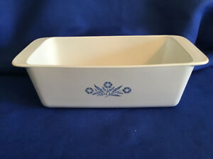 Corning Ware Blue Cornflower Loaf Pan