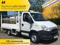 2012/ 12 Iveco Daily 2.3TD 35S13 Mwb Dropside+T/Lift Alloy body Rwd [ 3450wb ]