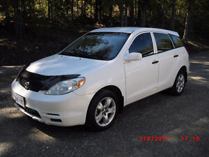 2004 Toyota Matrix 4x4