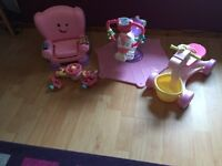 Pink bundle of toys for little girl !!!