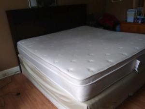 Delivered king size bed