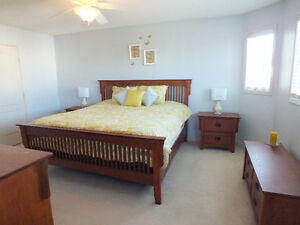 5 Piece Bedroom set - available starting evening of Monday May 2