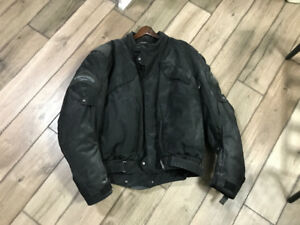 Teknic motorcycle jacket used twice sold bike