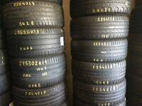 Tyre shop 205 50 17 225 45 17 225 45 18 235 45 18 205 45 17 NEW & USED PART WORN TYRES