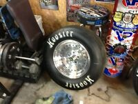Set of 4 Custom rims and tires