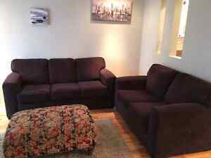 Beautiful couch and loveseat for sale