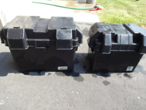 RV Battery box's