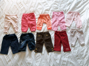 3-6 month pants and leggings
