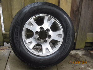 4 Cooper All season tires with rims
