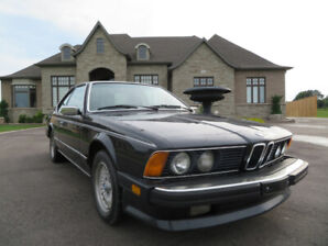 1985 BMW 635CSI E24 ORIGINAL M-PACKAGE 5/MT