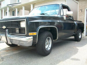 Rare Chevrolet Shortbox Stepside