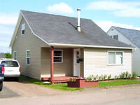 Great starter home with fenced-in backyard
