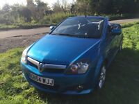 2004(54) VAUXHALL TIGRA SPORT TWINPORT 1.4 PETROL CONVERTIBLE STUNNING BLUE LADY OWNER
