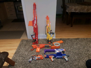 Nerf guns collection