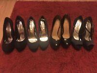 High heel Shoe bundle size 5