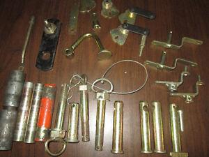 plusieurs items pour machineries