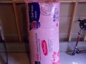 Fiberglass Pink R20 Insulation for 2 X 6 Walls or Attics