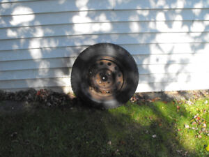 4- 13 inch snow tires and rims (price change)