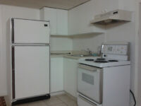 1 LARGE bedroom bsmt apt for a Single1 All-inclusive