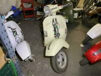 LML Star 125 Auto Scooter Frame Spares or Repairs Project