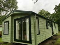 BRAND NEW 38x12 WILLOW 2 BEDROOM CARAVAN LUXURY LIVING ON A PRIME RIVER FRONT