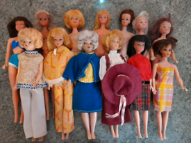 Vintage 60's/70's Barbie,Sindy & Skipper clone dolls
