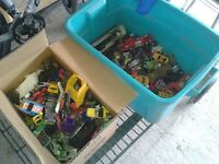 Entire Lot of Toy Cars