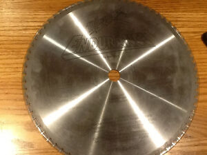 """14"""" millwalkie metal cutting blade for sale Strathcona County Edmonton Area image 1"""