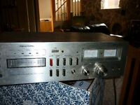 Vintage Realistic TR-803 8 Track Player-Recorder with tapes