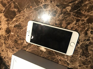 iphone 6 16gb silver locked to bell/virgin