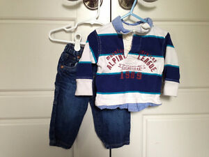 The Childrens Place boys outfit, size 9-12mos $3