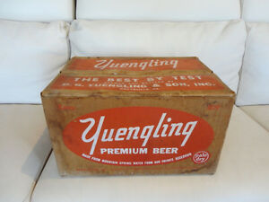 Vintage Rare 1959 Yuengling Premium Beer Pale Dry Wax Beer Case Kitchener / Waterloo Kitchener Area image 2