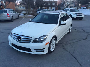 Mercedes Benz C250 2012 Cream White