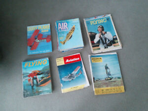 Magazines d'aviation 1938 à 1974,+ - 40