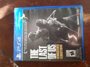 The Last of Us Remaster for PS4