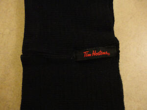 Brand new Tim Hortons black cable knit neck warmer London Ontario image 2