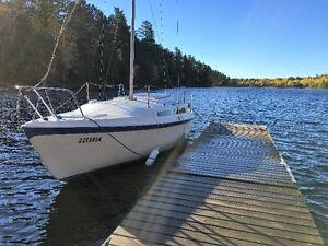 Sailboat 25' MacGregor with 9.9 Honda 4 stroke motor