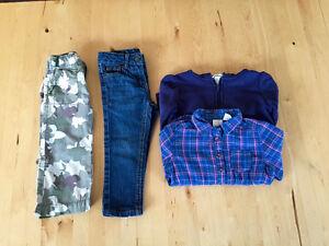 petit lot vêtements fille 18-24 mois: H&M, Joe Fresh, etc