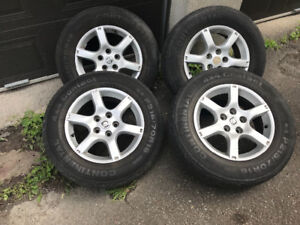 4 mags rims roues nissan 16po 5x114.3