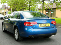 2011 61 Audi A4 2.0 TDI 170ps Technik Quattro 4dr WITH TOP SPEC+SATNAV+LEATHER++