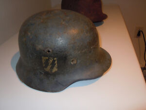 ORIGINAL CASQUE ALLEMAND WW2 ss