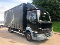 2012 62 DAF LF 45.180 Euro 5 curtainsider air suspension 12 tonne gvw