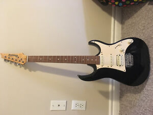 Ibanez electronic guitar, mint condition