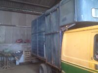 Horsebox 3 1/2 ton body £375