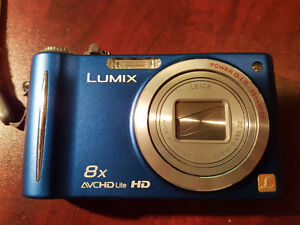 Panasonic LUMIX DMC-ZR3 Digital Camera (Leica lens) + **EXTRA**