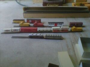 Large HO train set