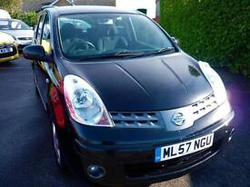 NISSAN NOTE 1.4 ACENTA ( 51,000 MILES FROM NEW )